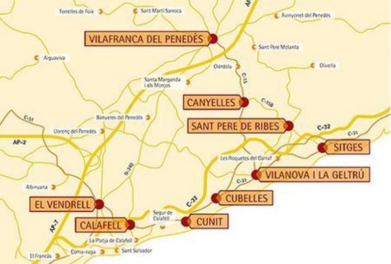 ruta del vino en Barcelona